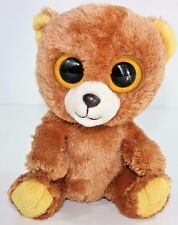 RETIRED TY beanie Baby Babies Boos Boo's Honey Bear 6 inch big eyes Retired M