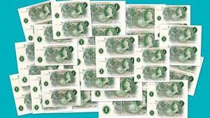 Large-Selection-Consecutive-Pair-O-039-Brien-1-banknotes-1960-039-s