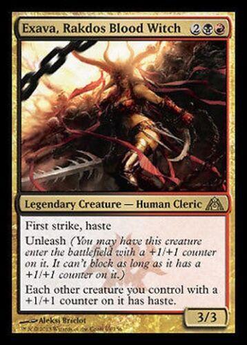 Strega di Sangue Rakdos Exava Blood Witch MTG MAGIC DgM Dragon/'s Maze Ita