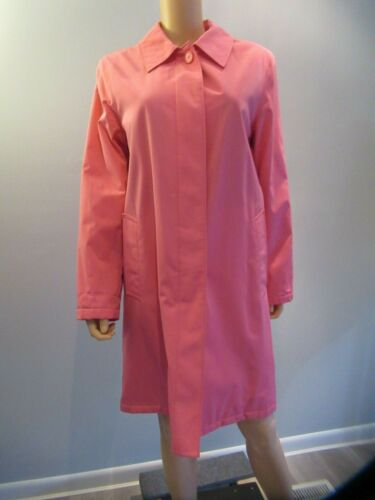 Esprit Womens Lined Trench Coat Pink Large