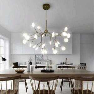 Image Is Loading Modern New Plant Pendant Light Led Chandelier Lighting