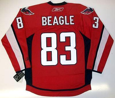 brand new d215f 41642 JAY BEAGLE WASHINGTON CAPITALS REEBOK NHL PREMIER HOME JERSEY NEW WITH TAGS  | eBay