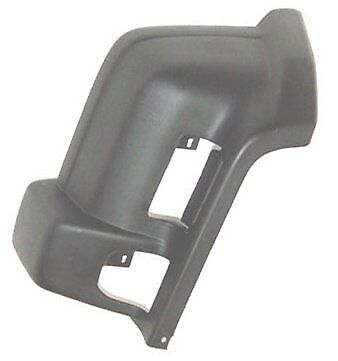 1997-2001 JEEP CHEROKEE DRIVERS SIDE FRONT BUMPER END CAP BLACK TEXTURED