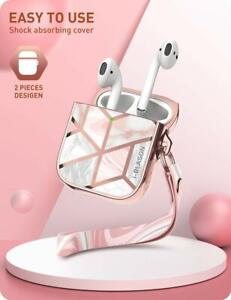 I Blason For Apple Airpods 1st 2nd Protective Stylish Airpods Case Cover 360 Ebay