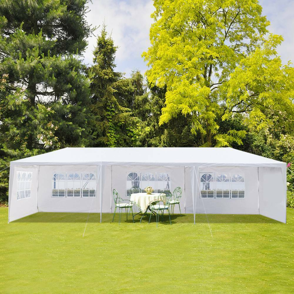 Nice 3x9m Five Sides Waterproof Tent with Spiral  Tubes Free Shipping CFP  just for you