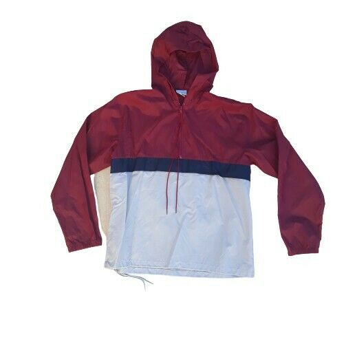 Vintage 70's Adidas Trefoil Taiwan ROC Hoodie Wind