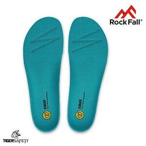 MotivéE Rock Fall Activ-step 3 Ft (environ 0.91 M) Low Arch Confort La Semelle Intérieure Semelle Pour Chaussures De Travail Bottes-afficher Le Titre D'origine Forme éLéGante