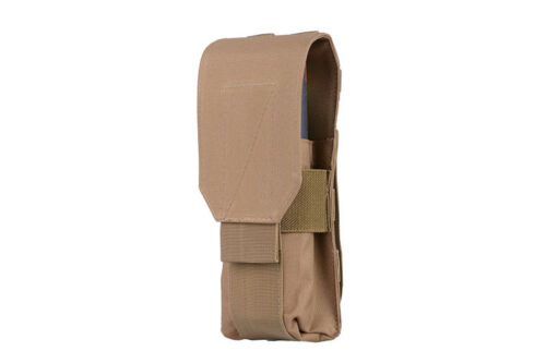 Molle Extra Large Mag magazine RPK 74 POUCH AIRSOFT Grenade Pouch Tan