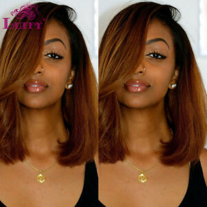Free Parting Ombre Hair Color 1b 30 Short Cut Bob Full Lace Front