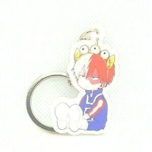 """Todoroki Shoto Panda BNHA MHA My Hero Acadamia Boku No 2/"""" Keychain Anime 857"""