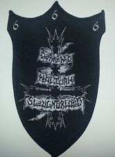 DARKENED NOCTURN SLAUGHTERCULT - Aufnäher Patch - New logo 15x10cm