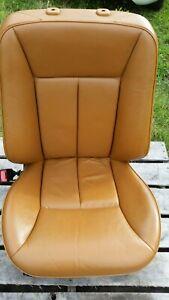 MERCEDES W210 E E300 E320 E420 E430 96-03 FRONT SEAT LEFT / DRIVER NICE SAFFRON