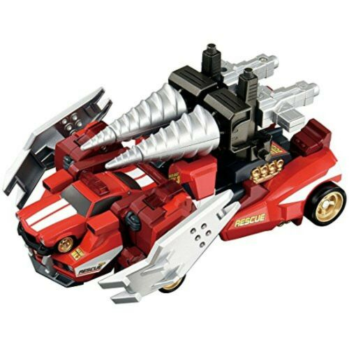 Tomica Figure Hyper rescue Drive head 02MKIII Master Backdraft Robot from JAPAN