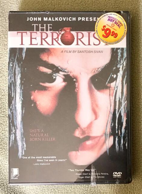 The Terrorist (DVD, 2000) Tamil with English Subtitles JOHN MALKOVICH presents