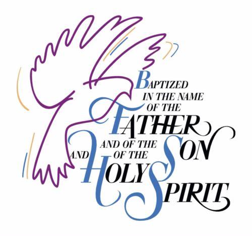 1x Sticker Confirmation Baptism Latter Day Saints Gift Locker Door Car #03