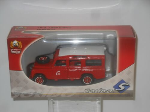 1:43 POMPIERS LAND ROVER OVP SOLIDO MODELL 2104