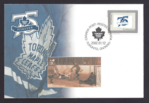 Canada  S47  Special Event Cover Toronto Maple Leafs   New  2002 Unaddressed