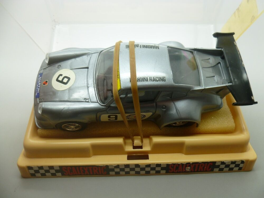 Scalextric 090155X12 Porsche Carrera Turbo in Grey, French version