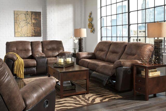 Superb Ashley Follett Reclining Sofa And Loveseat W Console Furniture 65202 Uwap Interior Chair Design Uwaporg