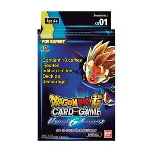 Dragonball Super Card Game Universe 6 Assailants Expert deck XD01