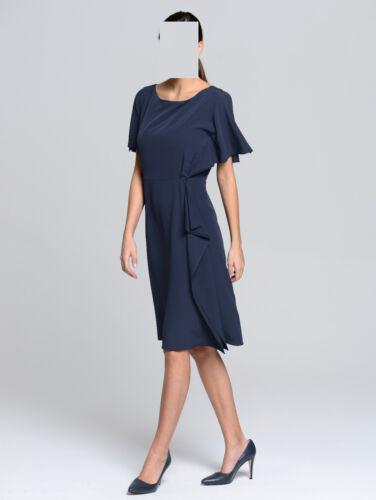 40 Mit Kleid Marken Navi 1018896510 Gr Volant PX0aq