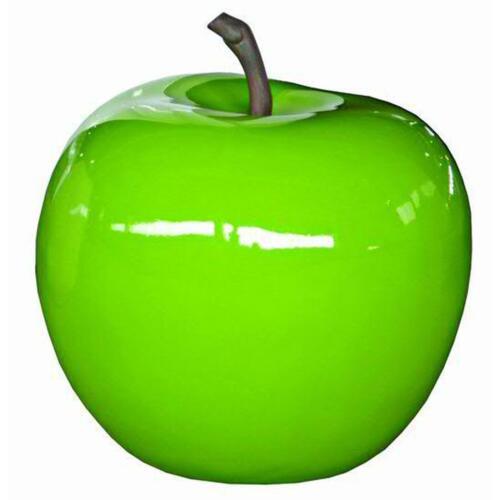 Deko-Apfel FRUIT-FUN aus Polystone hochglänzend grün ø21cm H20cm