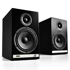 Audioengine HD6 Premium Powered Wireless Bluetooth Speakers - Pair (Black)
