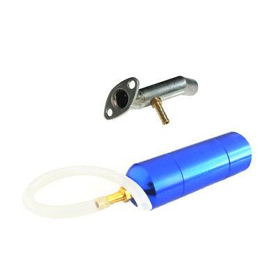 Power Boost Bottle 80cc 2 Stroke Motorized Bike Intake Manifold W//Connector