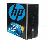 HP COMPAQ 6000 PRO MICROTOWER INTEL CORE 2 DUO 4GB RAM 500GB HDD