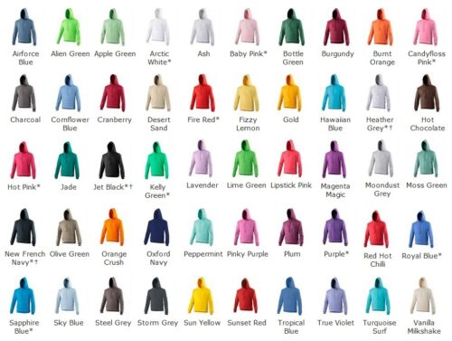 SWEATER HOODED JUMPER EXCERCISE UNISEX GYM FITNESS COLLEGE HOODIE JH001