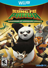 Kung Fu Panda Showdown of Legendary Legends RE-SEALED Nintendo Wii U GAME
