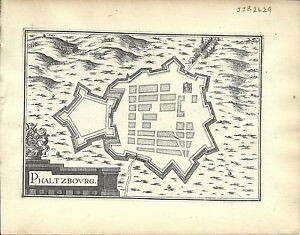 Antique-map-Phaltzbourg-Phalsbourg