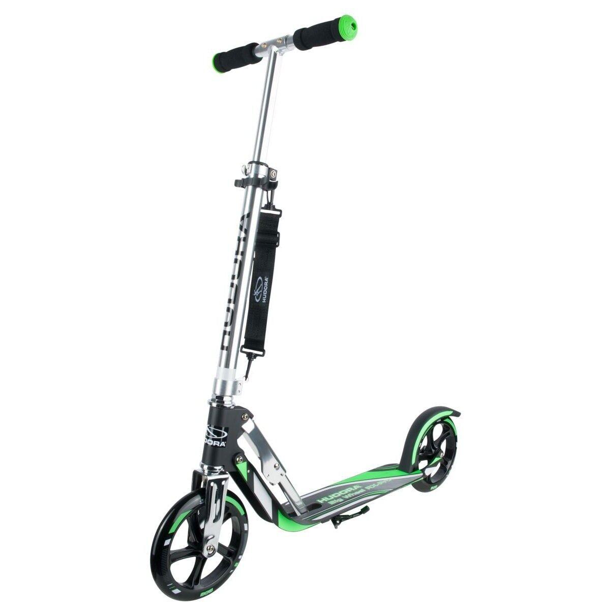 Hudora Big Wheel RX-Pro 205 Roller Scooter schwarz grün