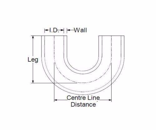 180 degrés silicone coude 180 ° ID 83mm Arc LLK silicone tuyau tuyau-Noir