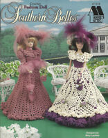 Crochet Fashion Doll Dress Clothing Patterns