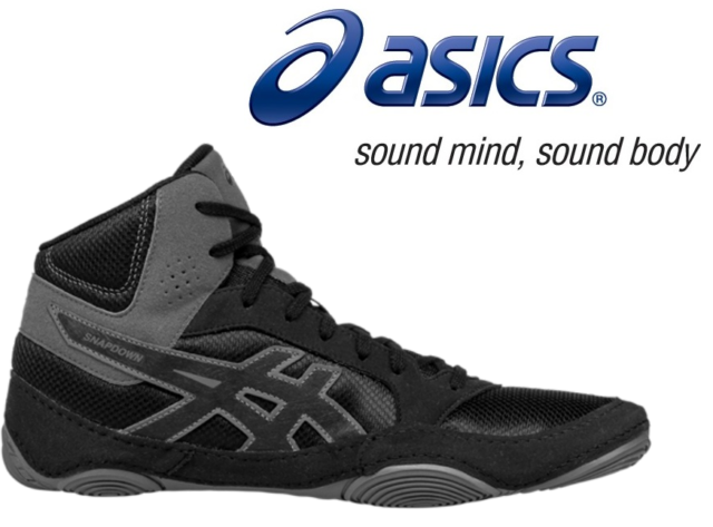 MMA Asics Snapdown 2 Wrestling Shoes boots Ringerschuhe J703Y 001 Boxing