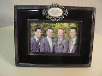 Amscan Grasslands Road Me & My Groomsmen Photo Frame 4x6 In Box Ceramic