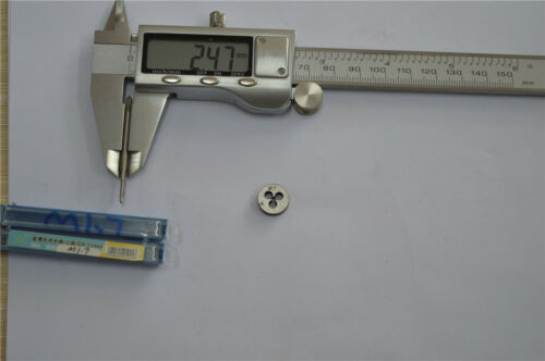 1pcs tap M1.7 1pcs die M1.7   High quality   M1.7  right hand