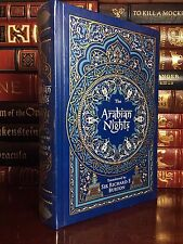 The Arabian Nights Illustrated by Rene Bull New Sealed Leather Bound Collectible