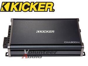 Kicker-CXA300-4-Class-D-4-Channel-Amplifier-600-Watt-Max-150w-RMS-Amp