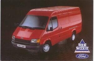 Ford-Transit-LWB-Van-Original-postcard-FB-1447