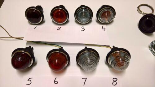 LIGHT GLASS lucas L594 L488 594 488 HOTROD PROJECT RATROD KITCAR TRAILER WOODIE
