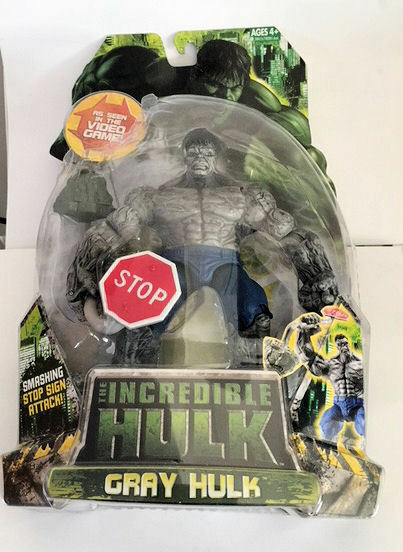 Marvel IncROTible Hulk grau Hulk Grau Video Game Legends C8 Hasbro 2008