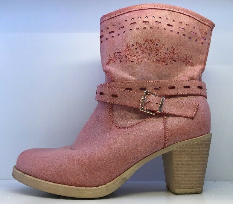 Chic Nana Ladies Pink Ankle Boots Eu 40