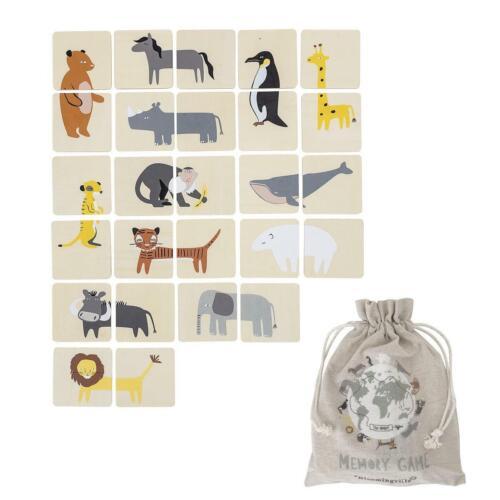 Bloomingville MINI Memory Spiel mit Tiermotiven