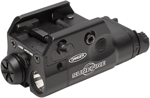 SureFire XC2-A Compact Pistol Light Torch 300 Lumens LED with Red Laser