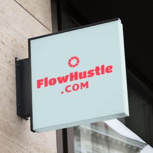FlowHustle .com / NR Domain Auction / Brandable Business ...