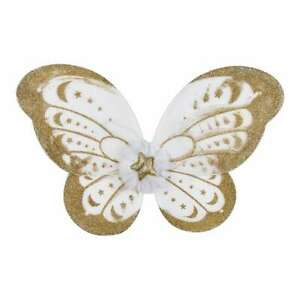 NEW Be Yourself Gold Glitter Wings By Spotlight