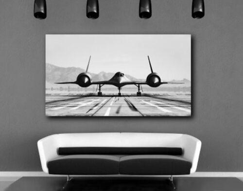 Blackbird Aircraft Airplane Canvas Art Poster Print Home Wall Decor