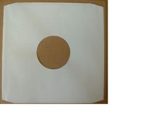"50 x 12/""//LP/'s WHITE PAPER INNER SLEEVES FREE P/&P^"